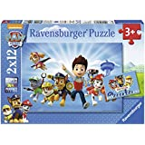 Paw Patrol - Puzzle, 2 x 12 piezas (Ravensburger 7586)