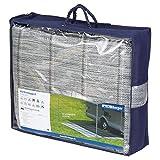 Arisol Markisen-Teppich 250 x 300 cm grau, robust, ideal für Zelte, Balkone, Terrassen, Vorzelte und Markisen