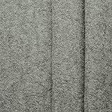 www.aktivstoffe.de Favorit Walkloden - 100% Schurwolle, Kochwolle - weicher, wärmender Wollstoff - Meterware (grau-Melange)
