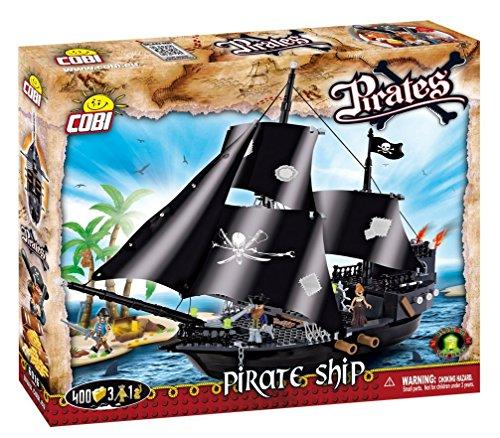 Cobi Konstruktion Spielzeug Piratenschiff Bauklötzen Bausteine