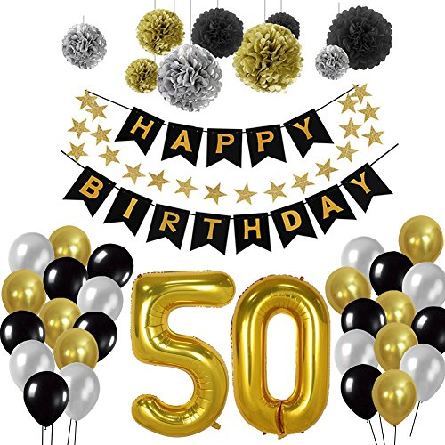 50e Kit de décorations de fête d...