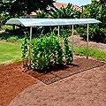 Tomatendach Tommy inkl. Rahmen und Bodenanker, verlängerbar von Gärtner Pötschke auf Du und dein Garten