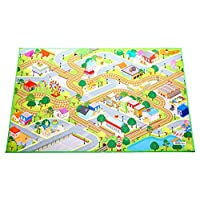 """HOK Playmat with non-slip, grip backing, indoor / outdoor, machine washable, 59"""" L x 39""""W"""