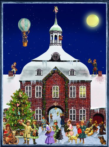 Sellmer Victorian Brick House Advent Calendar