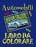 Scarica Libro Libro da Colorare Automobili Disegni da Colorare Bambini 4 10 anni (PDF,EPUB,MOBI) Online Italiano Gratis
