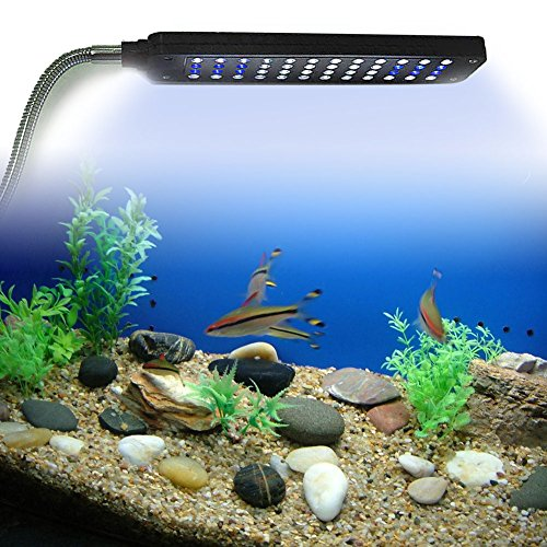 LED-Aquarium-Klemmleuchte-Lampe-Licht-Fische-Tank-Beleuchtung