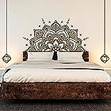 ONETOTOP Mandala Art Vinilo Pegatinas de Pared Mandala Bohemia decoración de la Cama...