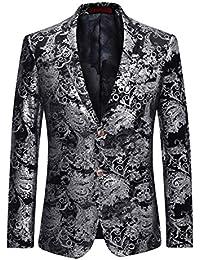 ef0ced129eef Veste de Costume Homme Blazer d affaires Mariage décontraction-Costume Homme -Moderne