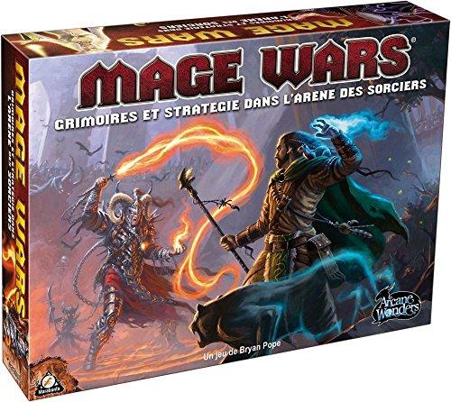 Asmodée - MWA01 - Jeux de cartes - Mage Wars