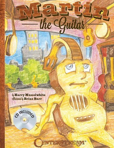 Martin The Guitar (Hardcover Book/CD) by Harry Musselwhite (2012-07-01)