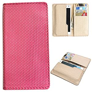 DooDa PU Leather Quality Wallet Case Cover With Card Slots Pouch For Micromax Canvas Knight Cameo A290