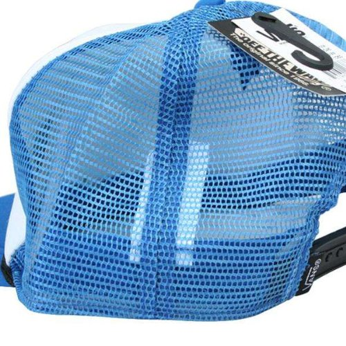 Vans M CLASSIC PATCH TRUC WHITE/BLACK - Casquette visières - Homme Bleu - Bleu