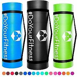 Portable Fitnessmatte »Sharma« / dick und weich, ideal für Pilates, Gymnastik und Yoga, Maße: 183 x 61 x 0,8cm, türkis