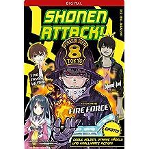 Shonen Attack Magazin #1: Dezember 2016 bis März 2017 (German Edition)