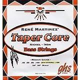 GHS Taper Core Rene Martinez Medium 045-105 / Saiten für 4-Saiter-Bass