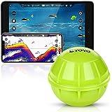 Eyoyo Fischfinder Smart Bluetooth Fish Finder, Tragbarer Kabelloser Sonar Fischfinder Kompatibel mit iOS- und Android…