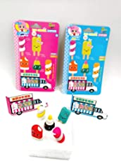 Pack of 10 Beautiful candy erasers for birthday return gifts(2 sets)