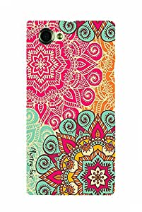 Purple Eyes Exclusive Designer Printed Hard Case for Sony Xperia Z L36H