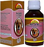 #3: Growel Pet Cal D3 - Calcium for Dog ,Cat & Pets for Stronger Joints & Bones with Extra Zinc & Magnesium-200 ml