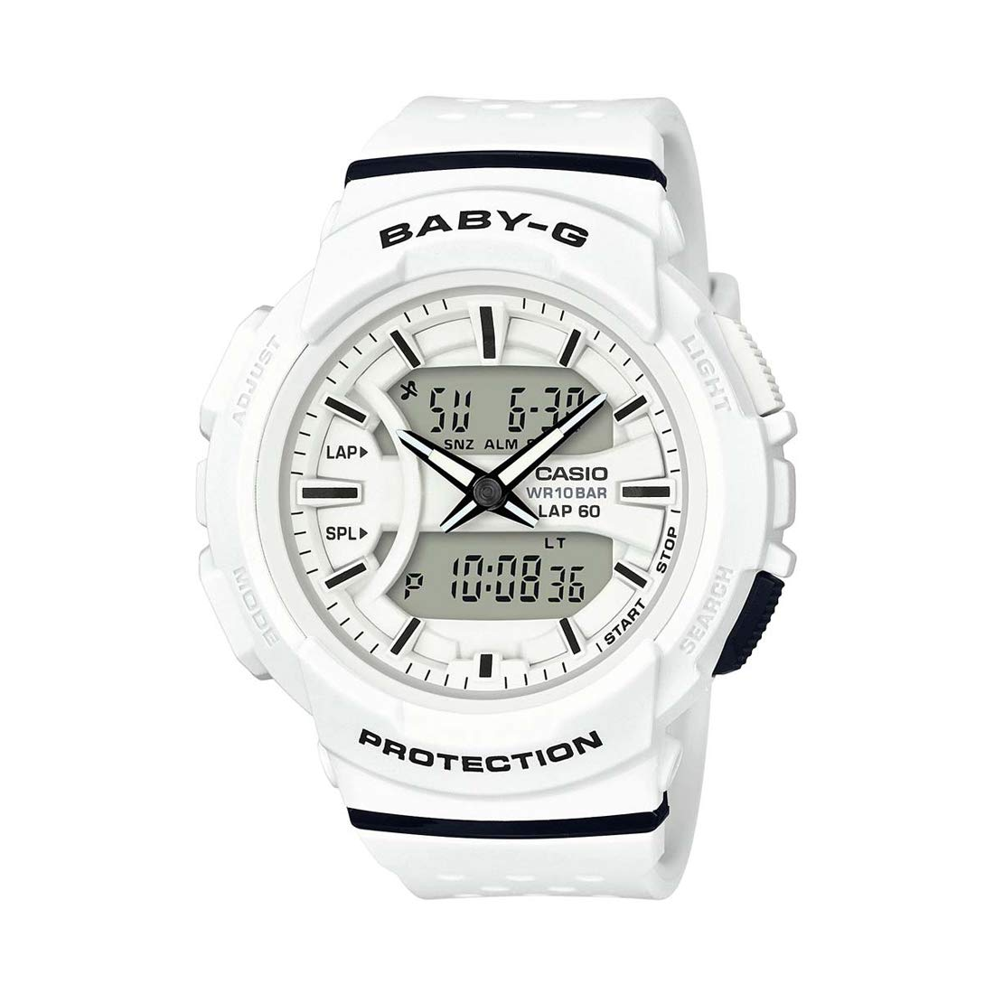 Casio Baby-g Analog-Digital White Dial Women's Watch – BGA-240-7ADR (B190)
