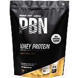 PBN - Premium Body Nutrition Siero di Latte in Polvere, 1 Kg (Pacco da 1), Sapore di Crema e Cookies, Gusto Ottimizzato