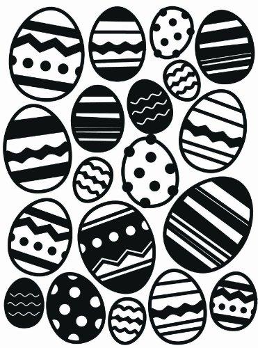 Darice Embossing Folder Cartella per Goffratura Mascherina Uovo di Pasqua, 10.8x14.6x0.3 cm