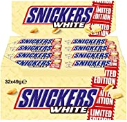 Snickers White, 32 grendels (32 x 49 g)