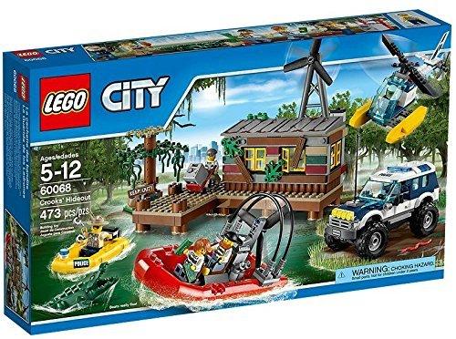 Preisvergleich Produktbild Lego City swamp hideout 60068 by LEGO