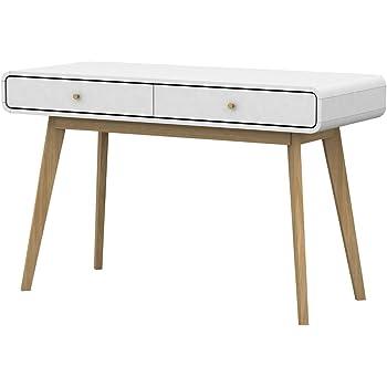 Loft24 Carmen Schreibtisch Bürotisch Computertisch PC Tisch Konsolentisch Skandinavisches  Design 120 X 78,6 Cm