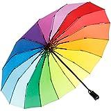 iX-brella Parapluie de poche 16 pièces avec ouvre-main., Arc-en-ciel (Multicolore) - .