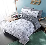 Lalamas Animal print Reversible Quilt Duvet Cover Set By Pieridae- Easy Care Anti- Allergic Soft & Smooth with Pillowcase(Single).