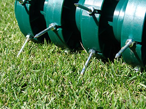 Greenkey 30cm Rolling Lawn Aerator