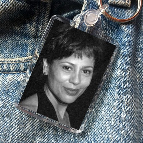 Seasons ROXANN DAWSON - Original Art Keyring #js002