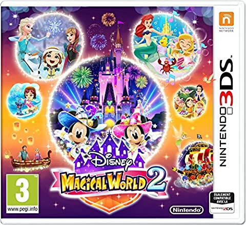 Tomodachi Life 3ds - Disney Magical World