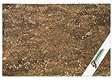 XL Parete posteriore in sughero (Terrario da parete, sfondo, pannello), Parete posteriore in sughero 3D 90 x 60 cm