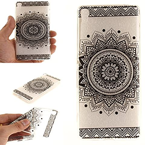 Coque Sony Xperia XA,Cozy Hut® Coque Gel TPU Silicone Dessinez