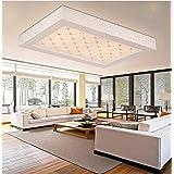 Lámpara de techo cuadrado de moda arte de acrílico lámpara de techo de cristal
