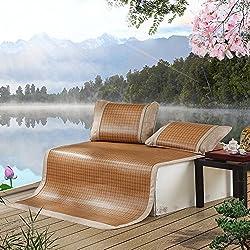Nclon Sommerschlafmatte Kühlmatratze Topper Pad, Genießen Sie einen schönen Schlaf mit unserem atmungsaktiven und glatten Blatt