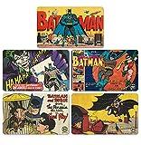 Ensemble de planches à petit-déjeuner Batman - Ensemble de 5 planches à découper DC Comics - Design original sous licence - LOGOSHIRT