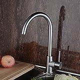 Ling @ 304 Edelstahl Gebürstet Zuckerwatte Kalte Und Heiße Wasserhähne Für Bad Küche