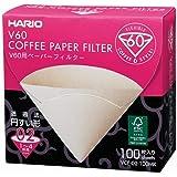 HARIO V60 filters koffiefilter, niet van toepassing, 1 liter, natuurlijk, zonder tabs