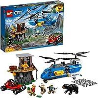 LEGO - 60173 - City - Jeu de Construction - l'Arrestation dans la Montagne