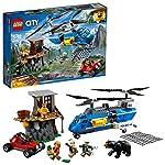 LEGO City - Police - Arresto in Montagna, Multicolore, 60173 LEGO