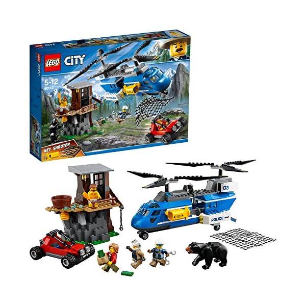 LEGO- City PoliceArresto in Montagna, Multicolore, 60173 1 spesavip