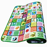 #7: NOVICZ Baby Mat Carpet Baby Crawl Play Mat - 200 x 180 cm Crawling Mat for Infant