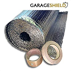 Garage Door Insulation Foil Kit (6sqm) - Easy Install Reflective Bubble Foil Insulation - Ideal for Garage Doors, Homes, Attics, Sheds, Caravans - Includes Free Foil Tape and Installation Guide