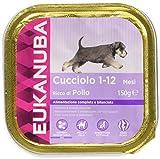Eukanuba Puppy, Alimento Completo per Cuccioli, Umido di Pollo, 150g