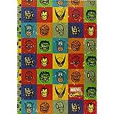 Marvel Retro A5 Faces Notebook