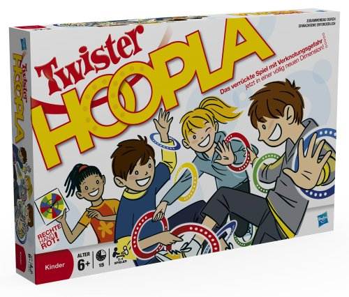 Hasbro-16964100-Twister-Hoopla Hasbro 16964100 – Twister Hoopla -