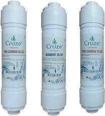 Cruzone Inline Filter Catridge Set For Ro System